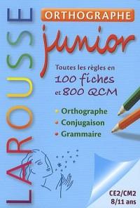 Orthographe Junior CE/CM- 7/11 Ans