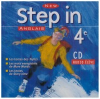 New Step In : Anglais, 4e LV1 (CD audio)