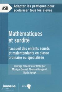 Mathématiques et surdité : L'accueil des enfants sourds et malentendants en classe ordinaire ou spécialisée