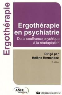 Ergothérapie en psychiatrie