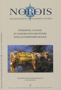 Norois, N° 204 : Patrimoine, culture et construction identitaire dans les territoires ruraux