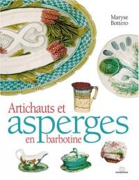 Artichauts et asperges en barbotine