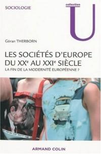 Les sociétés d'Europe du XX au XXIe siècle
