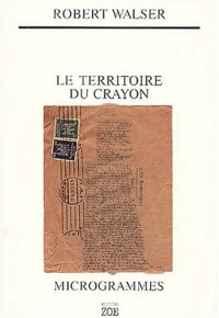 Le Territoire du crayon : Microgrammes