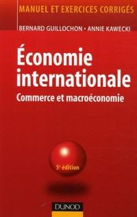 Economie internationale : Commerce et macroéconomie