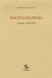 Photographies : Journal, 1992-1995