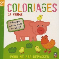 La ferme - Coloriages magiques !