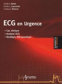 ECG en urgence : Cas clinique, analyse ECG, stratégie thérapeutique