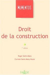 Droit de la construction : Mémento