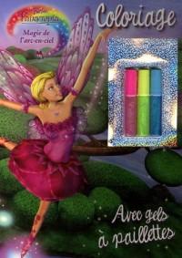 Magie de l'arc-en-ciel : Coloriage avec gels à paillettes