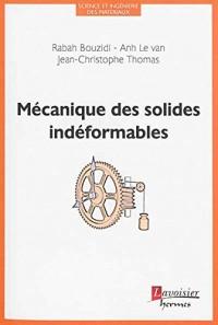 Mécanique des solides indéformables
