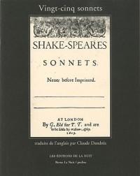 Vingt-Cinq Sonnets de William Shakespeare