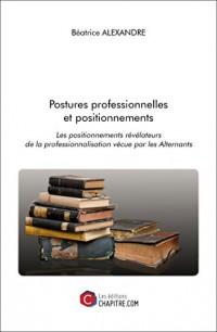 Postures Professionnelles et Positionnements - les Positionnements Revelateurs de la Professionnalis
