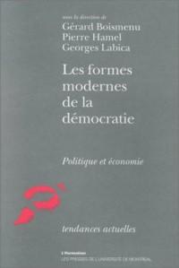 Les Formes modernes de la démocratie