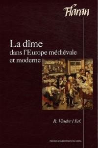 La dîme dans l'Europe médiévale et moderne