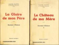 Souvenirs d'enfance I et II - La gloire de mon père - Le château de ma mère - Lot de 2 livres