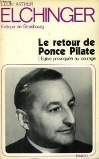 Le Retour de Ponce Pilate