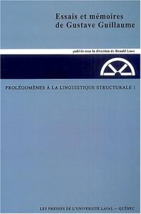 Prolégomènes à la linguistique structurale : Tome 1