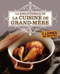 Coffret Carton 5 Volumes - Bibliotheque de la Cuisine de G-d