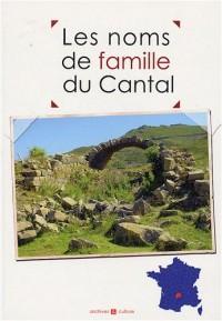 Les noms de famille du Cantal