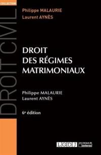 Droit des régimes matrimoniaux