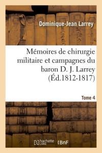Memoires Chir Militaire  T 2  ed 1812 1817