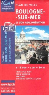 Plan de ville : Boulogne-sur-Mer (Sans livret)