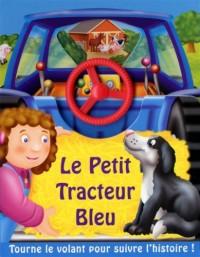 Le petit tracteur bleu