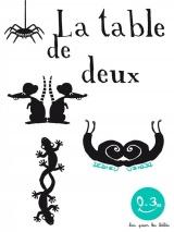 La table de deux
