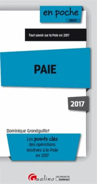 Paie 2017, Septième ed.
