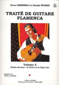 Traite guitare flamenca 3  +CD