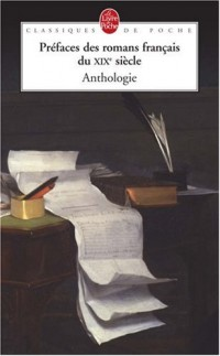 Préfaces des romans français du XIXe siècle