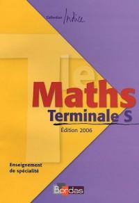 Maths Tle S Enseignement de spécialité