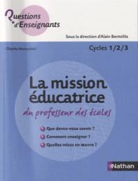 La mission éducatrice du professeur des écoles