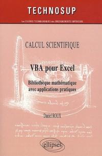 VBA pour Excel : Bibliothèque mathématique avec applications pratiques
