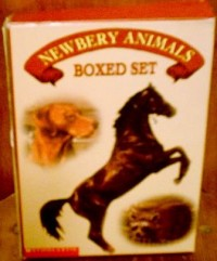 Newbery Animals Boxed Set: King of the Wind; The Fledgling; Sounder; Rascal