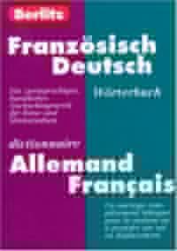 Dictionnaire allemand/français - allemand/français