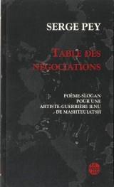 Table des négociations : Poème-slogan pour une artiste-guerrière Ilnu de Mashtehiatsh