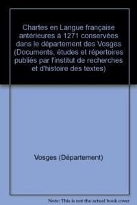 Documents linguistiques de la France : Vosges