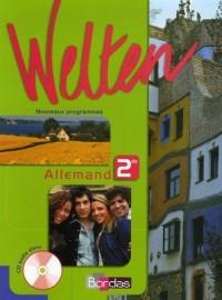 Allemand 2e LV1-LV2 Welten (1CD audio)