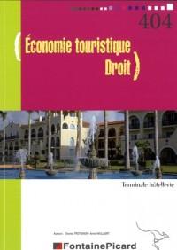 Economie touristique Droit Tle Hôtellerie