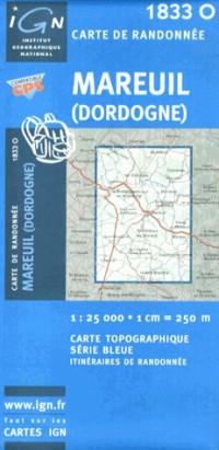 Mareuil (Dordogne) GPS: Ign1833o