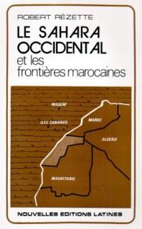 Le sahara occidental ( fr) et les fronfieres marocaines