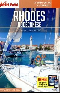 Guide Rhodes - Dodécanèse 2018 Carnet Petit Futé