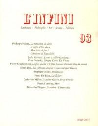 L'infini, N° 93/décembre 2005 :
