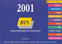 BTS : Book technique du spectacle 2001