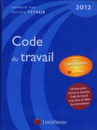 Code du Travail 2012