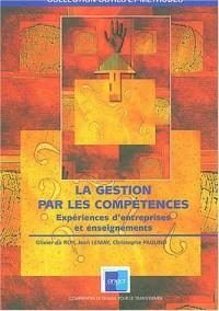 La gestion par les compétences : Expériences d'entreprises et enseignements