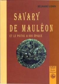 Savary de Mauleon et le Poitou a Son...