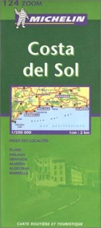 Carte routière : Costa del Sol